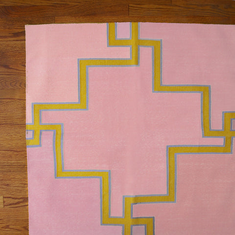 CUPCAKE MAZE COTTON CARPET 6 x 9