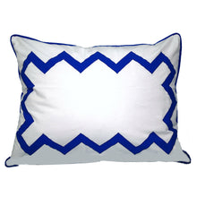 Load image into Gallery viewer, Cobalt Blue Bang Bang Standard Sham