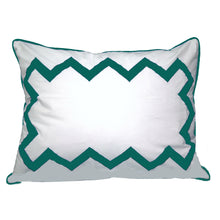 Load image into Gallery viewer, Turquoise Bang Bang Standard Sham