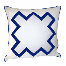 Load image into Gallery viewer, Cobalt Blue Bang Bang Euro Sham