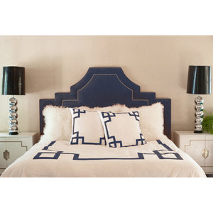 Navy Key Duvet Cover