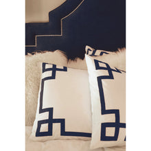 Load image into Gallery viewer, Navy Key Duvet Cover