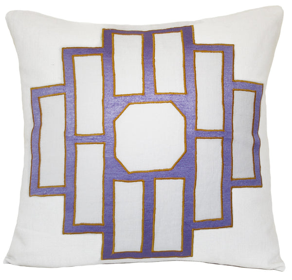 Amethyst Mark Emroidered Pillow