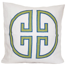Load image into Gallery viewer, Apple Monogram Embroidered Pillow