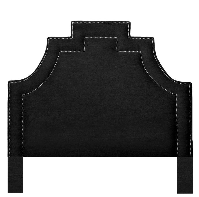 Boutique Hotel Luxury Headboard - Obsidian