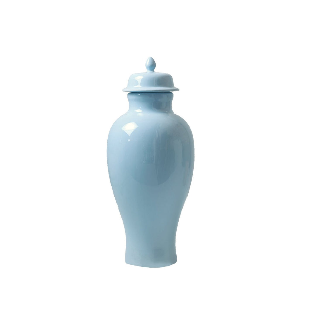 Baby Blue Tall Jar