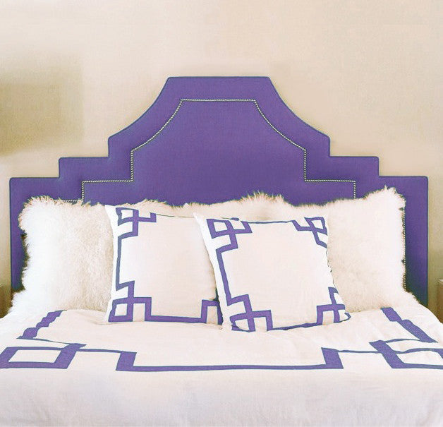 Purple Rain Key Duvet Cover