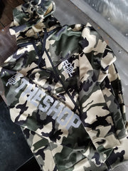 Camo Removable Zip-Off Hoodie