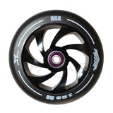 AO Spiral 125mm Wheels Black