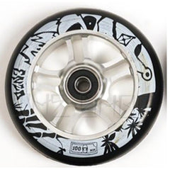 AO Enzo 2 Signature 100mm Wheels silver