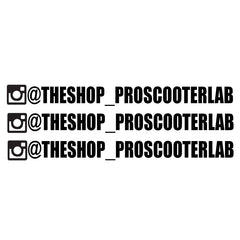 Custom Instagram Stickers (12), STICKERS,- THE SHOP PRO SCOOTER LAB