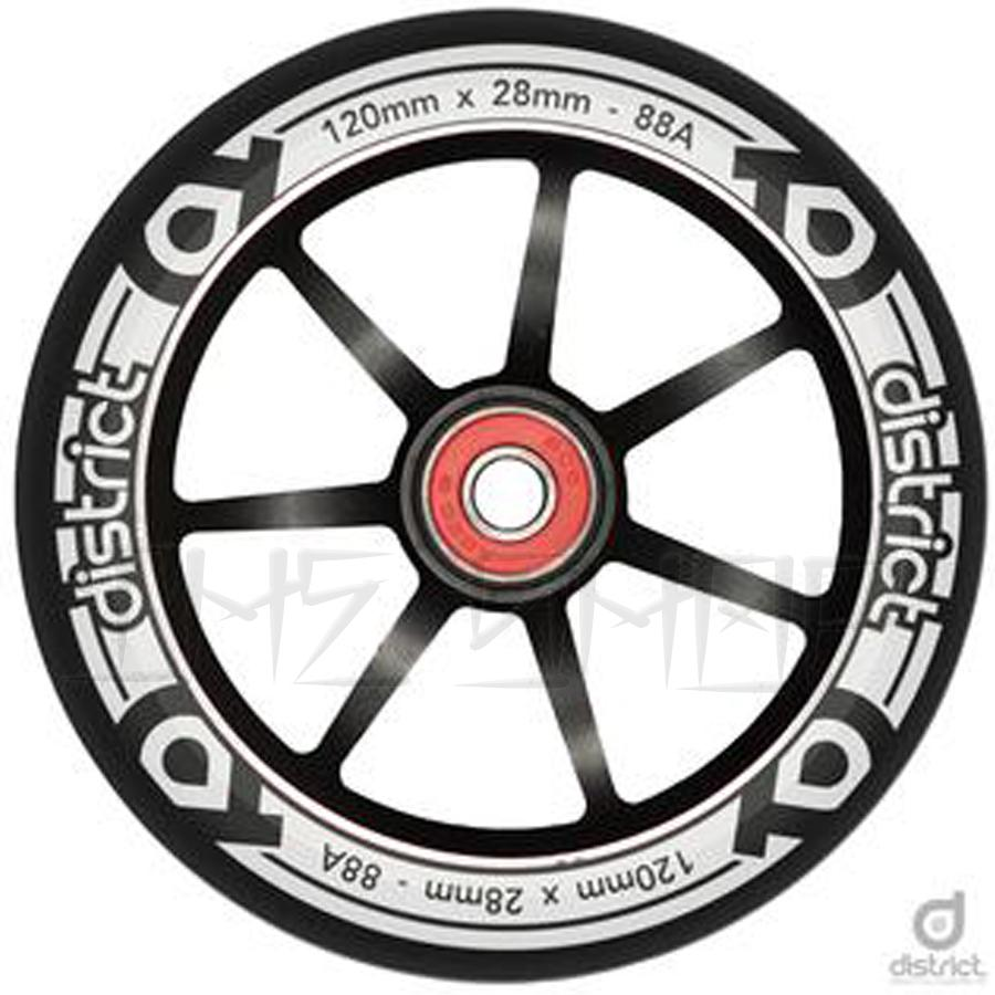 District S-Series 120mm x 28mm Wheels