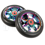 "Phoenix F7 Alloy Core  ""Neo Chrome"" - THE SHOP PRO SCOOTER LAB - 1"