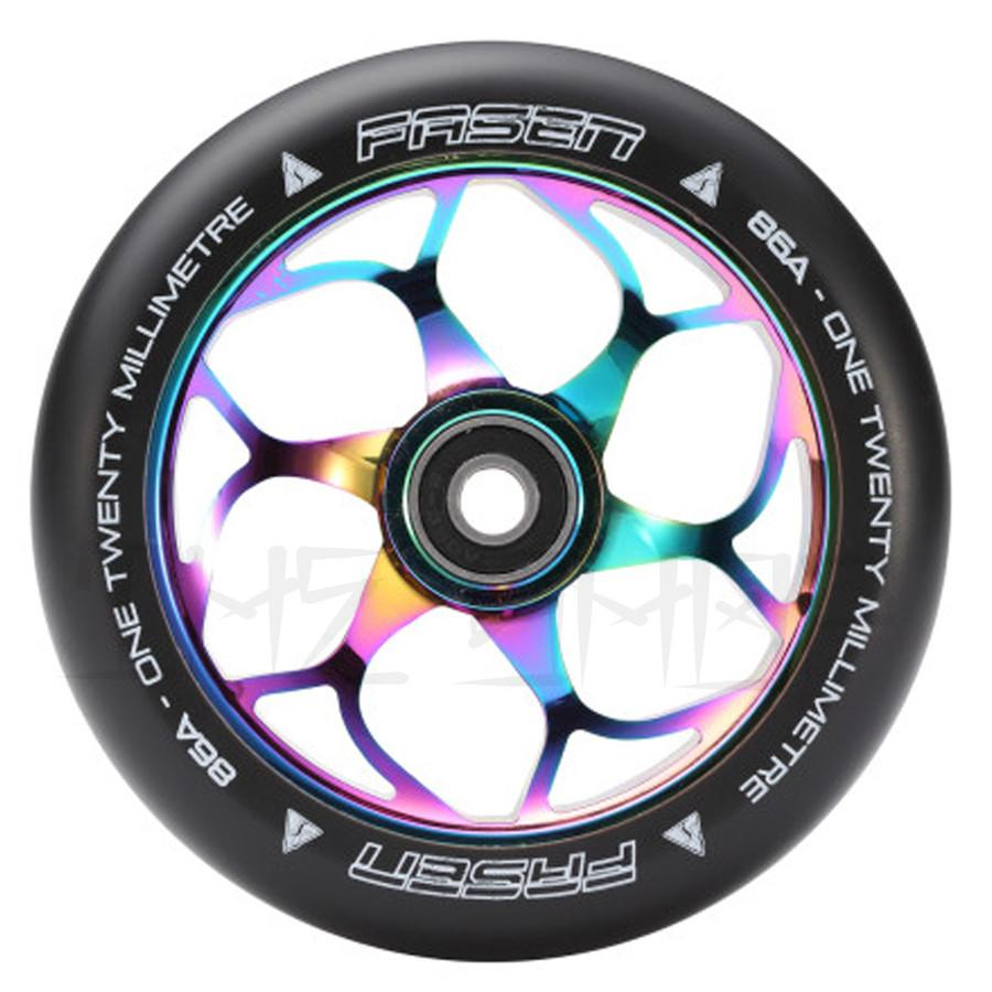 Fasen Black Core 120mm Wheels