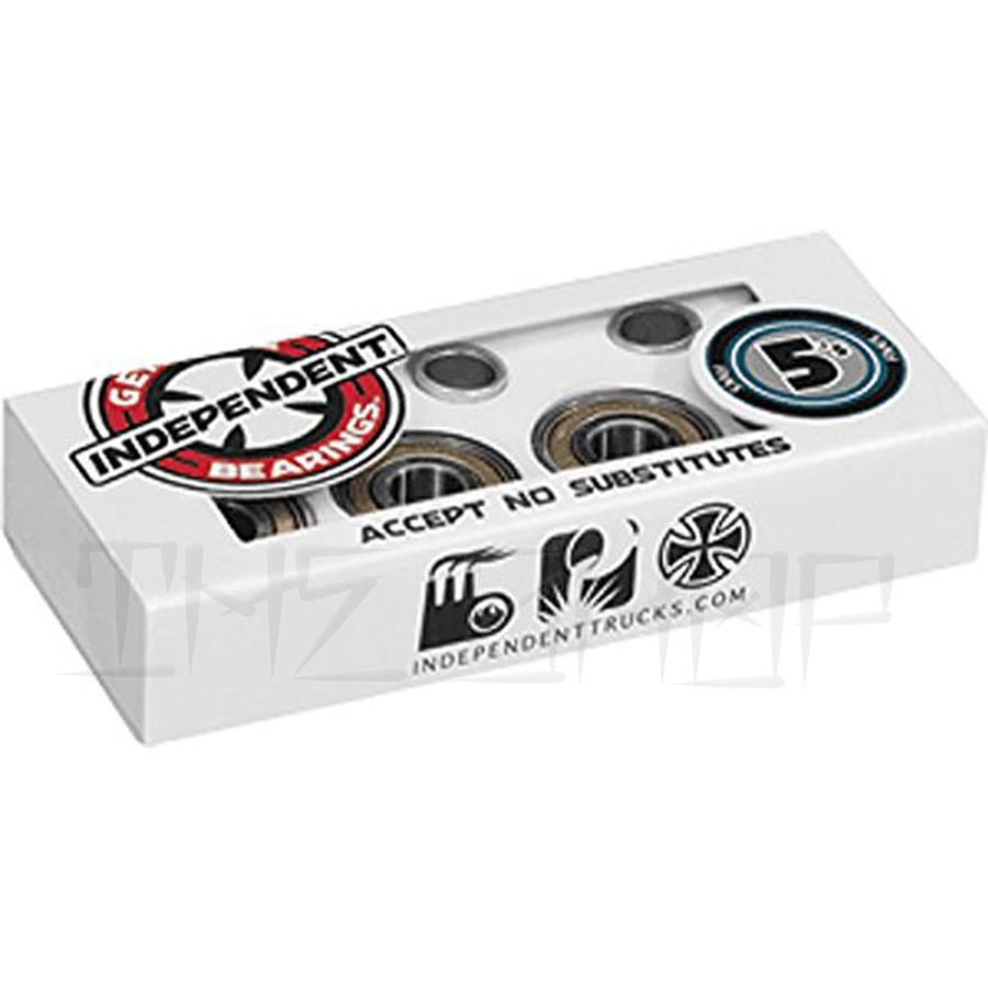 Independent 5'S ABEC-5 Single Set Bearings - THE SHOP PRO SCOOTER LAB