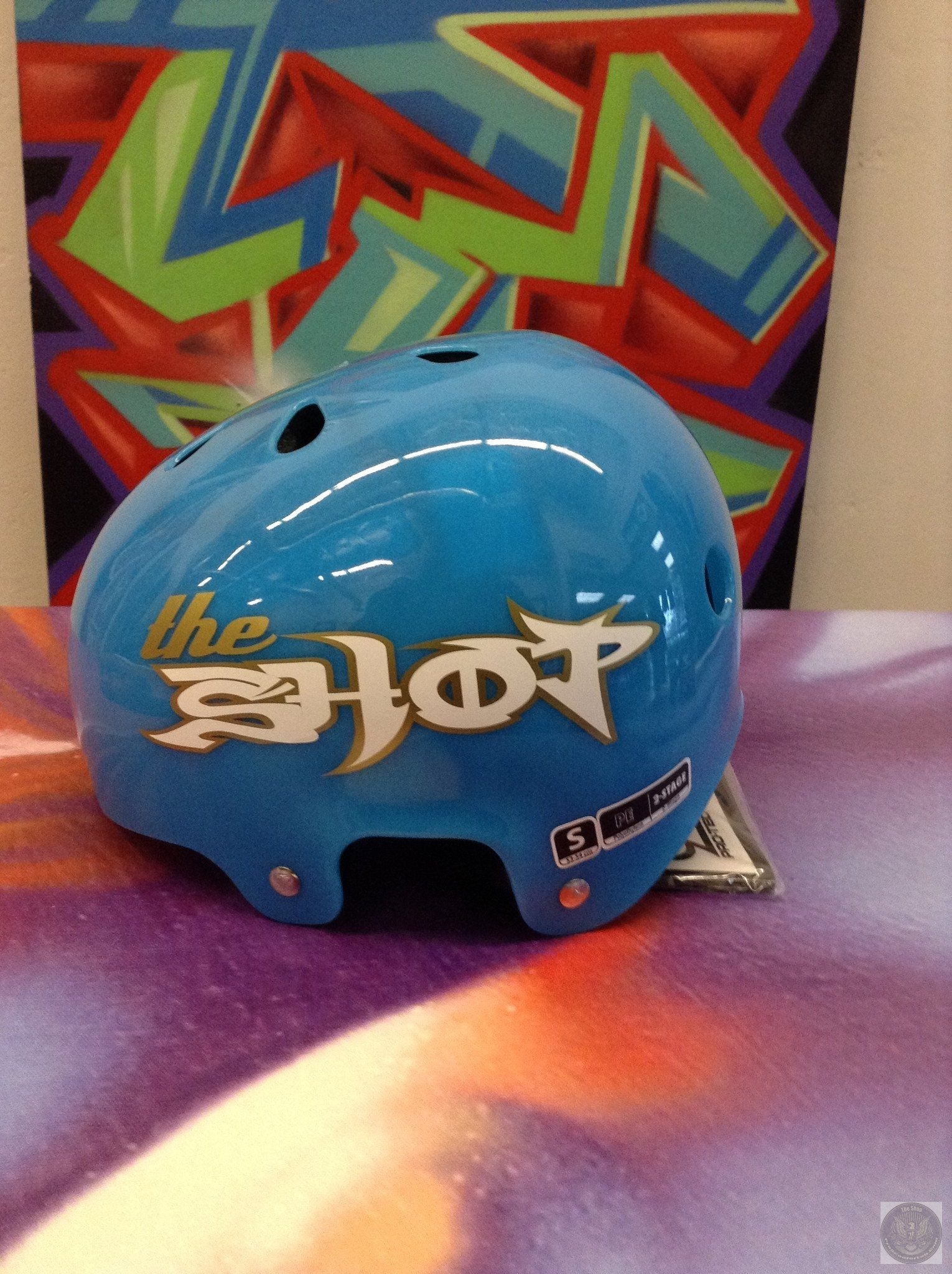 The Shop Custom Helmets - THE SHOP PRO SCOOTER LAB - 1