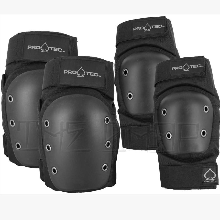Pro-Tec Elbow and Knee Pad Set