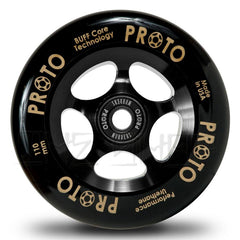 Proto Gripper 110mm Wheels Black/ Black