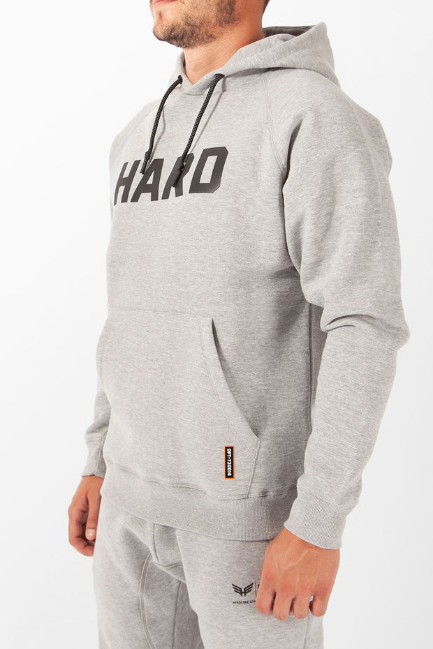 HARD Logo Overhead Hoodie Tracksuits, Hoodies and Sweaters Hardcore Mens