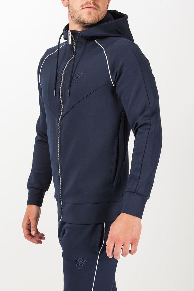 Jackson Poly Piped Full Zip Hoodie Hoodies and Sweaters Hardcore Mens