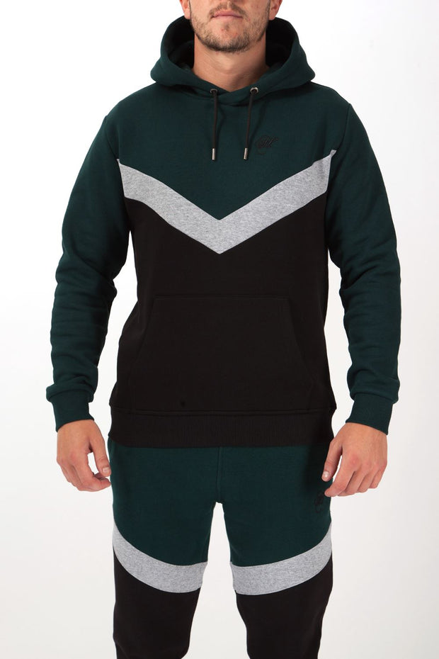 Lenox Overhead Chevron Hoodie Hoodies and Sweaters Hardcore Mens