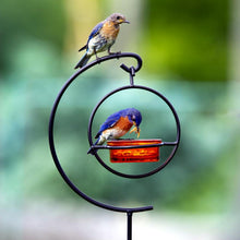 Load image into Gallery viewer, Mosaic Birds Hummble Garden Stake