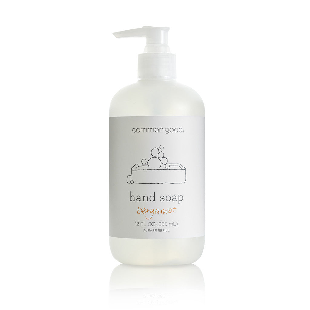 Hand Soap Bergamot Lavender Unscented Fragrance-free Essential Oil Plant-based Bio-based Safe Green Refillable Clean Home Environmentally Friendly Eco Products Eco-products SLS-free Sulfate-free Kids Babies