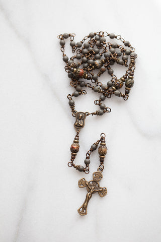 The Matte Rosary