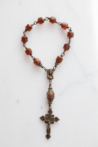 Brown Czech Cathedral Chaplet