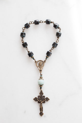 Black Czech Cathedral Chaplet