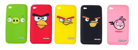 Angry Birds Silicon Covers