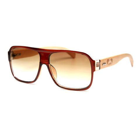 "Bamboo Wood Sunglasses ""Sheldon Brown"""