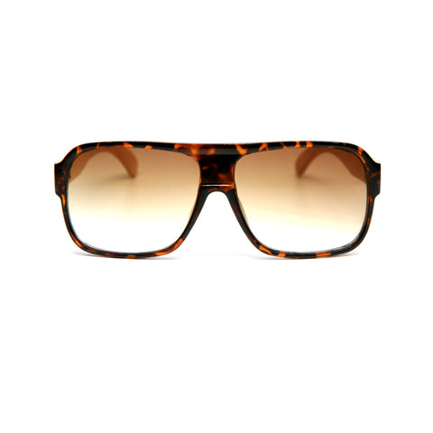 "Bamboo Wood Sunglasses ""Sheldon Tortoise"""