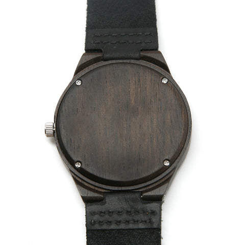 "Bamboo Watch Rowland Series ""Black"""
