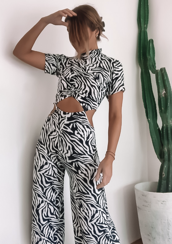 Belieze Jumpsuit - Festival Clothing by Roxanna The Label