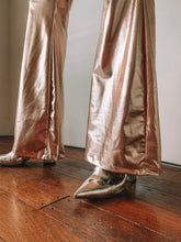 Load image into Gallery viewer, Liquid Gold Flare Pants ♡