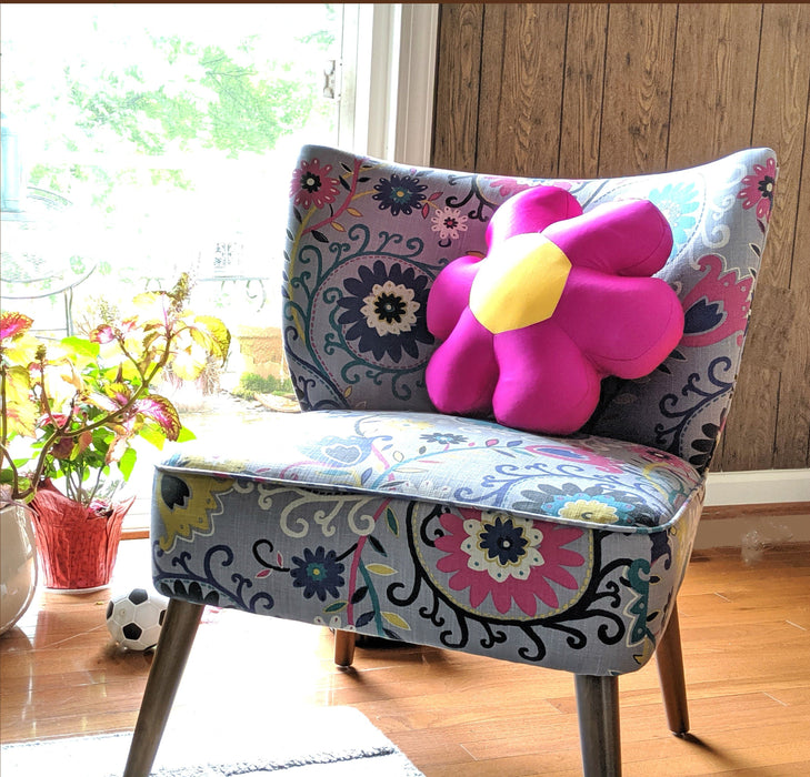 "Tache Squishy Microbead Colorful Flower Shaped Throw Pillow 18"" - Tache Home Fashion"