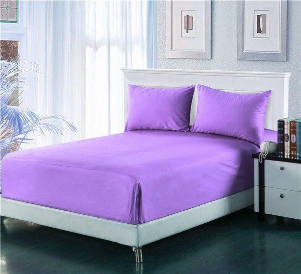 Tache Cotton Lavender Dreams Bed Sheet (Fitted Sheet) (BS3PC PP) U2014 Tache  Home Fashion