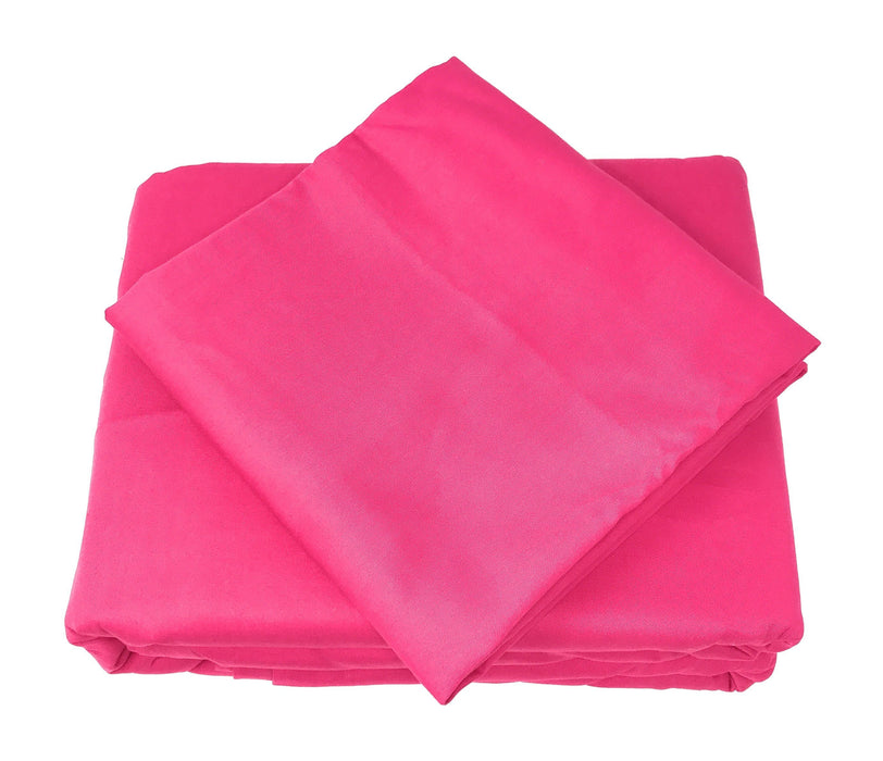 Tache Cotton Hot Pink Fitted Sheet (BS3PC-PI) - Tache Home Fashion
