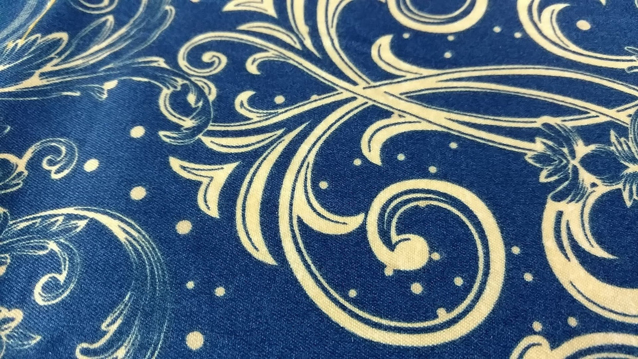 Bed Sheet - Tache 3-4 Piece Star Gazing Blue Luxurious Fancy Fitted And Flat Sheet Set