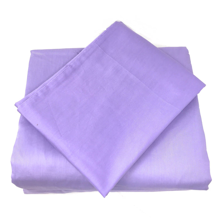 Tache Cotton Lavender Purple Flat Sheet (BS3PC-P) - Tache Home Fashion