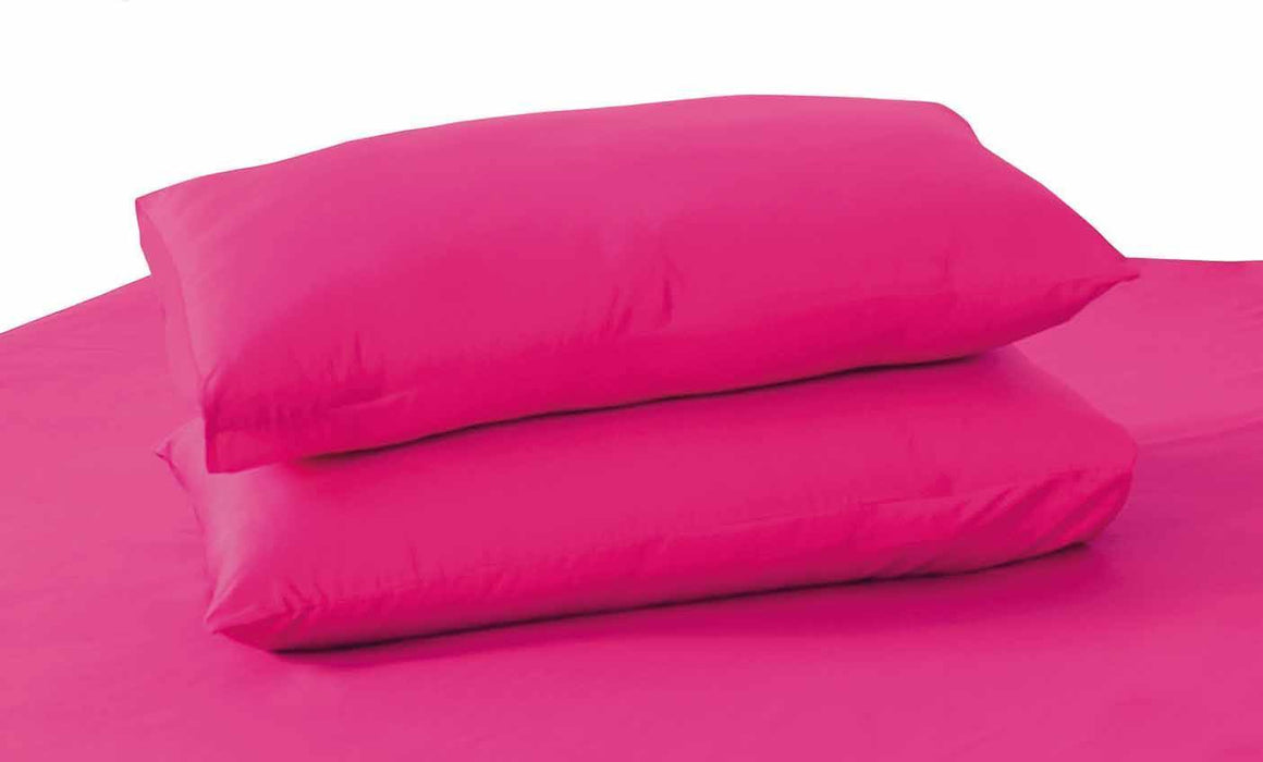 Tache Cotton Hot Pink Standard Pillowcase (10012PI) - Tache Home Fashion