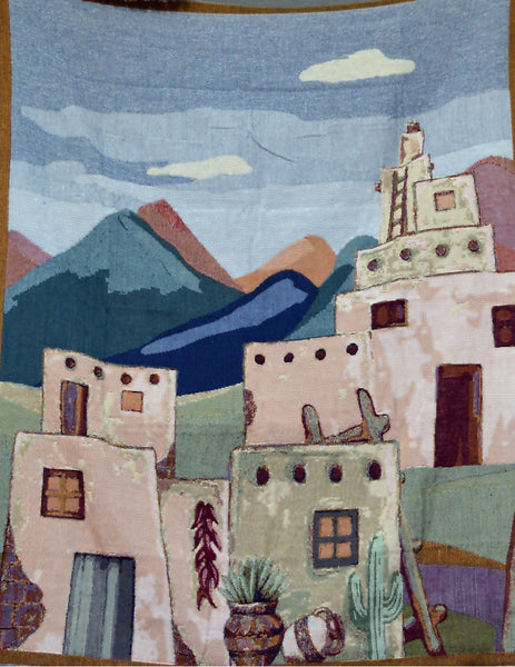 Blanket/ Throw - Tache 1 Piece 50 X 60 South Western Village Tapestry Throw