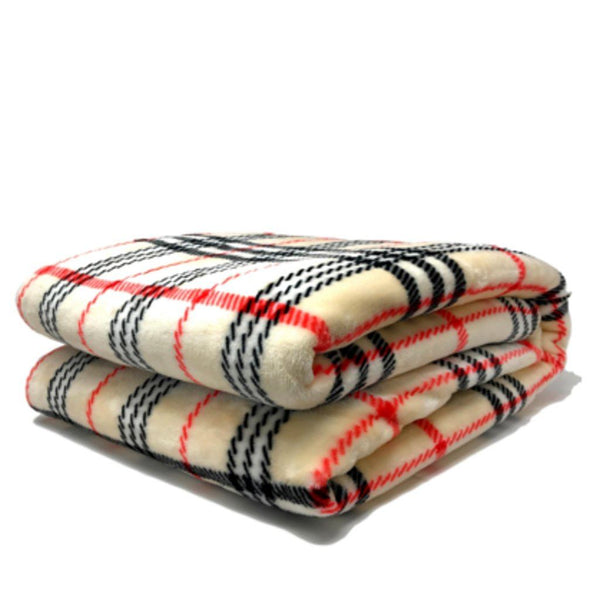 Blanket/ Throw - Tache 50 X 60 Inch Super Soft Ritz Flannel Throw Blanket