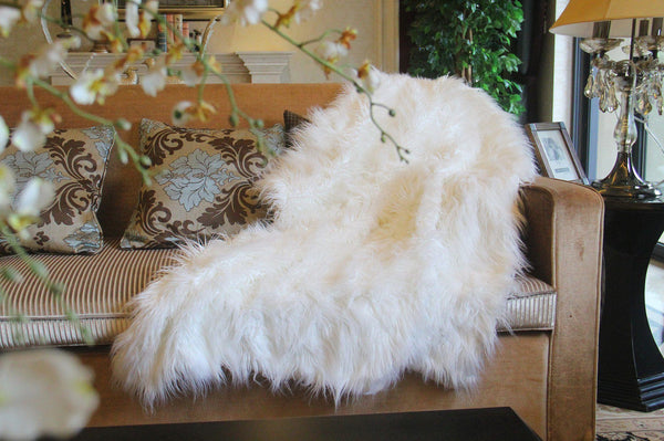 Blanket/ Throw - Tache Lion Pile 50 X 60 Inch Faux Fur Throw Blanket