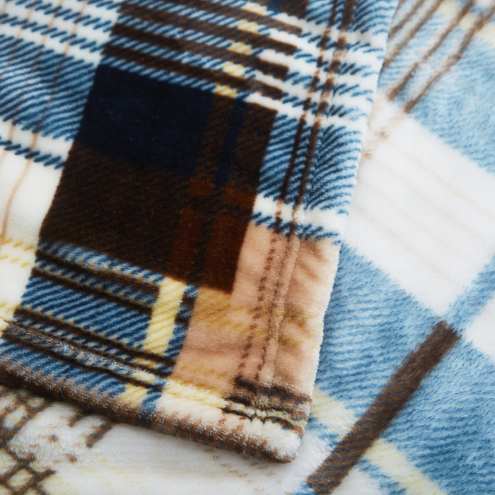 Blanket/ Throw - Tache Super Soft Winter Cabin Flannel Polyester Throw Blanket