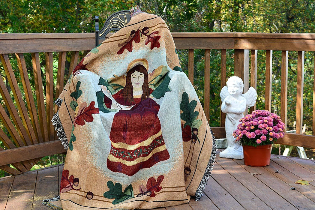 Blanket/ Throw - Tache Thanksgiving Dinner Wish Tapestry Throw Blanket 50 X 60 (2044)