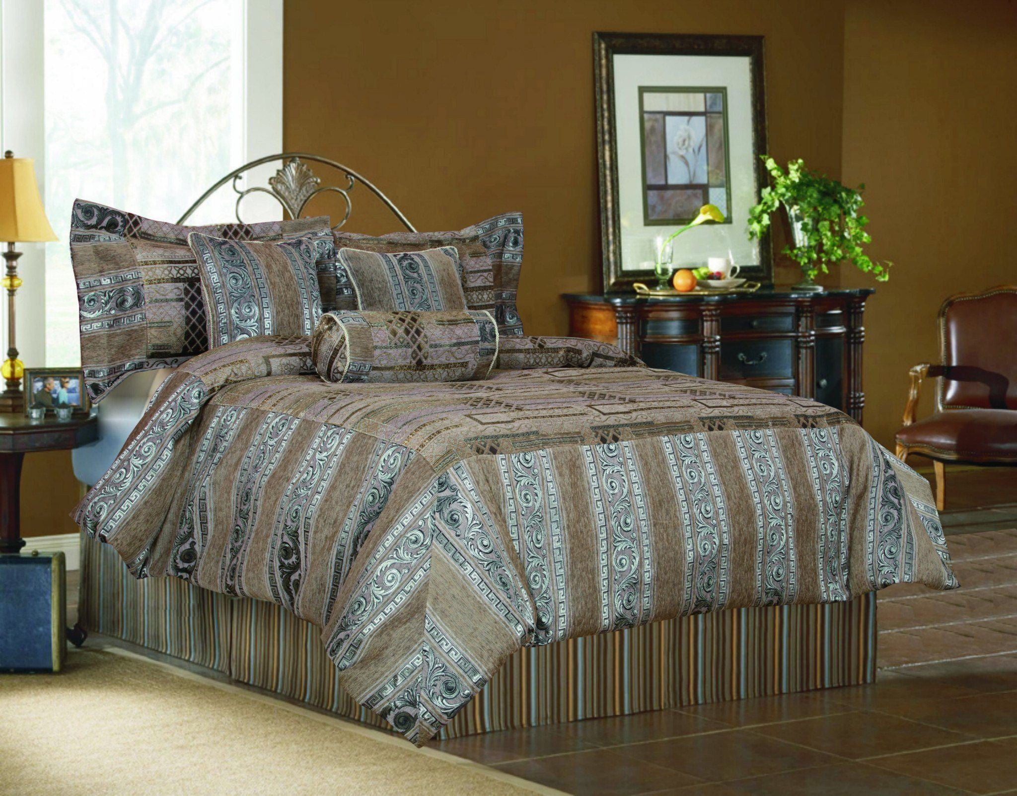 floral more bed savannah sizes blue comforter w collection set n in bedding