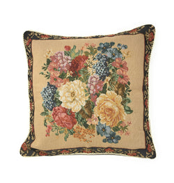 Tache 18 x 18 Inch Colorful Country Rustic Floral Morning Awakening Cushion Cover (TADB3089CC-B-4545) - Tache Home Fashion