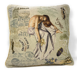 Tache 18 X 18 Inch Parisan Model Throw Pillow Cushion Cover (TA-CC-1362) - Tache Home Fashion